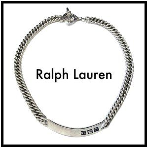 Ralph Lauren Vintage Sterling Choker Necklace